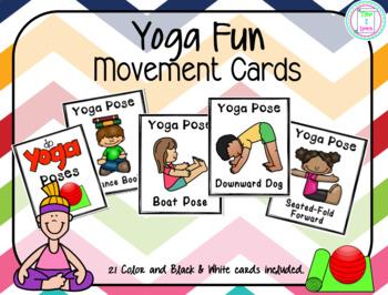 Yoga Fun Movement Cards/Brain Breaks