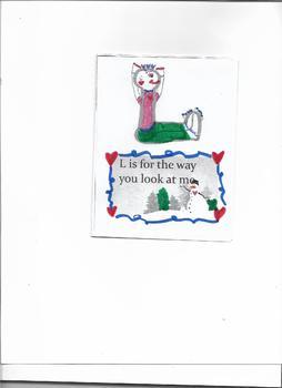 Yoga  L-O-V-E Booklet - color , sing & Move