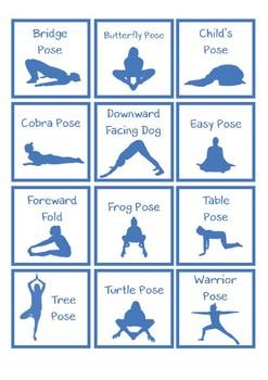 Yoga Match Game