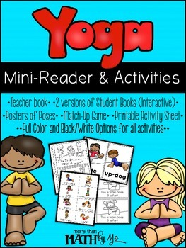 Yoga Mini-Reader and Activities