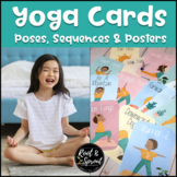 Yoga Pose Cards for Kids - A Calming Movement Break Activity