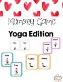 Yoga Pose Memory Game