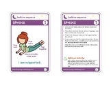 Bedtime Sequence Yoga Pose Card Deck
