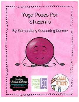 Yoga Pose Signs for Students