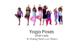 Yoga Poses 3 Part Cards