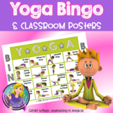 Yoga Poses Bingo, Posters, and Coloring Pages