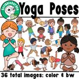 Yoga Poses Clipart