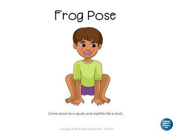 Yoga 1 Poses For Kids - Great For Brain Breaks - No Print No Prep