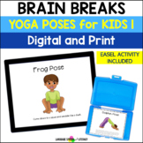 Yoga 1 Poses For Kids - Great For Brain Breaks - No Print No Prep