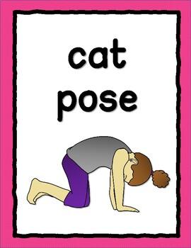 Yoga Poses Printable Poste