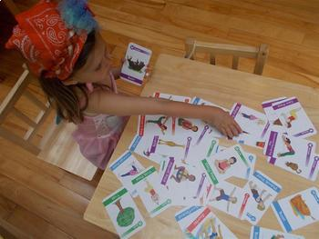 Yoga Cards: Yoga Poses for Kids Cards (Deck One)