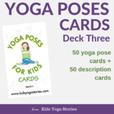 Yoga Poses for Kids Cards (Deck Three)