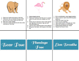 Yoga Position Cards Sample
