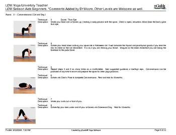 Yoga Session Aids Beginners