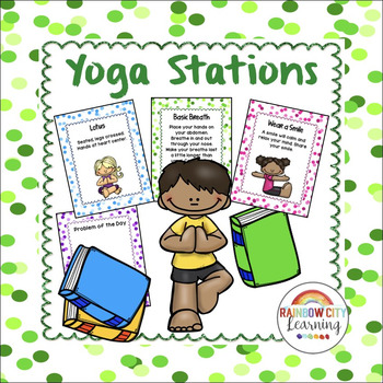 Yoga Stations Posters - Breath, Poses, Inspiration