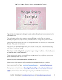 Yoga Story Scripts:  Seasons, Nature, and Imagination, Volume 1,