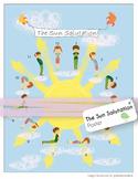 Yoga Poster - Sun Salutation
