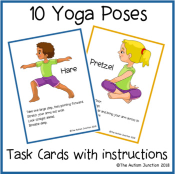 image about Yoga Printable named Printable Yoga Playing cards 1