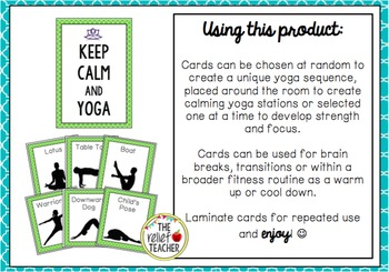 Yoga Task Cards