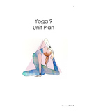 Yoga Unit Plan (Junior High)