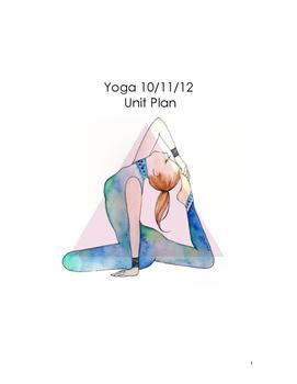 Yoga Unit Plan (High School)