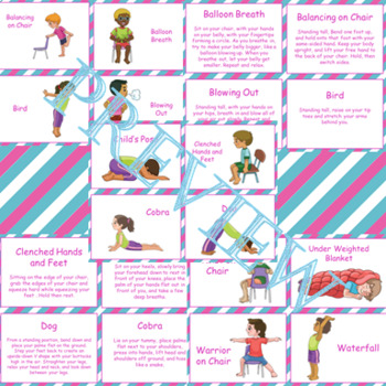 Yoga and Body Break Cards