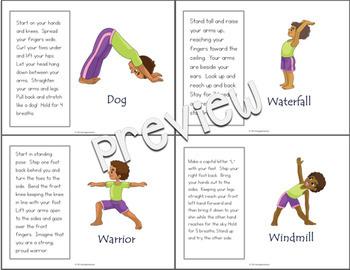 Yoga Cards for Self-Regulation
