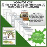 Yoga for Kids | Distance Learning | Zoo Animals Class, Breathing + Mindfulness