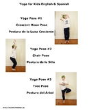Yoga for Kids in English and Spanish