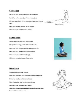 Yoga for Relaxation Homework and Reflection