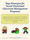 Yoga for Social-Emotional Learning |Use w/in Conscious Dis