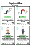 Yoga for children { 14 cards to download for free }