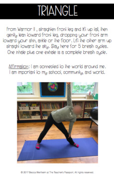 Yoga in the Classroom Printable Yoga Cards