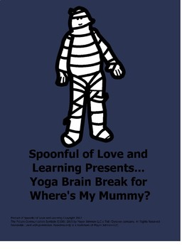 Halloween yoga poses for Where's My Mummy?