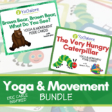 Distance Learning: Yoga & Movement Cards Based on Books by
