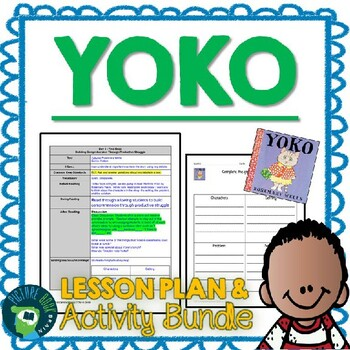 Yoko by Rosemary Wells 4-5 Day Lesson Plan and Activities