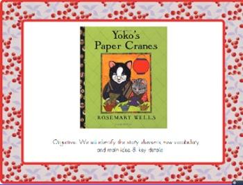 Yoko's Paper Cranes