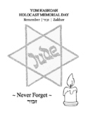 Yom Hashoah - Holocaust Memorial Day
