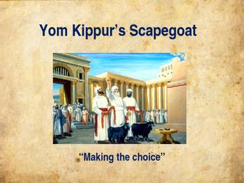 Yom Kippur's Scapegoat