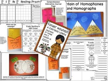 Yonder Mountain: A Cherokee Legend Journeys 3rd Grade Unit 3 Lesson 13