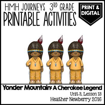 Yonder Mountain: Journeys 3rd Grade (Unit 3, Lesson 13)