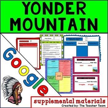 Yonder Mountain | Journeys 3rd Grade Unit 3 Lesson 13 Google Activities