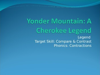 Yonder Mountain PPT Journeys Lesson 13