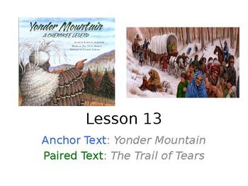 Yonder Mountain PowerPoint with Weekly Activities Journeys Grade 3