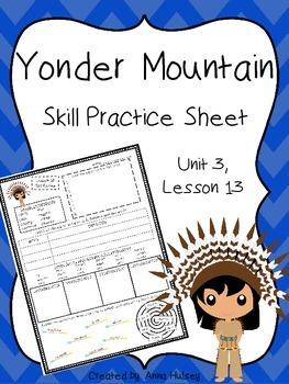 Yonder Mountain (Skill Practice Sheet)
