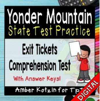 Yonder Mountain State Test Prep - 3rd Grade Journeys