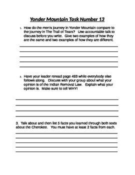 Yonder Mountain Task