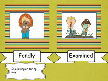 Yonder Mountain Vocabulary Power Point