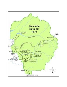 Yosemite National Park Webquest