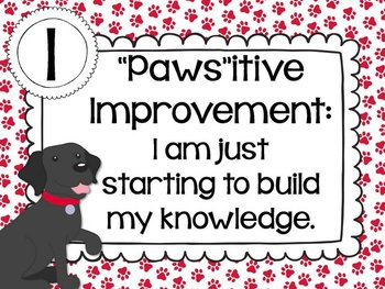 You Ain't Nothin' But a Hounddog! {Fun classroom Marzano Scales}